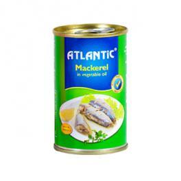 ATLANTIC Mackerel in Vegetable Oil