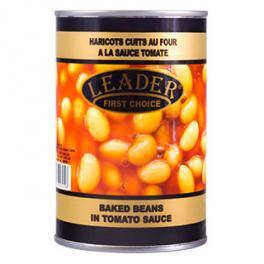 LEADER Baked Beans in Tomato Sauce