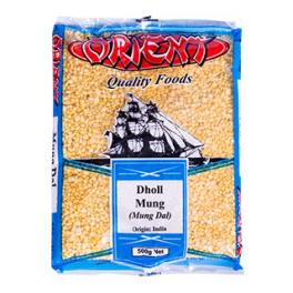 ORIENT Dholl Mung 500g (Mung Dholl)